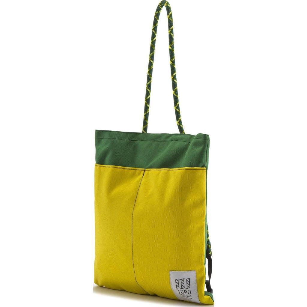 Topo Designs Rope Pack Backpack Tote | Forest/Sunshine