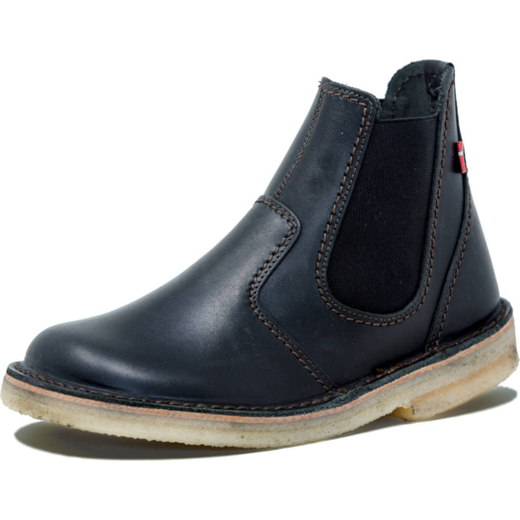 Duckfeet Roskilde Leather Boots in Black