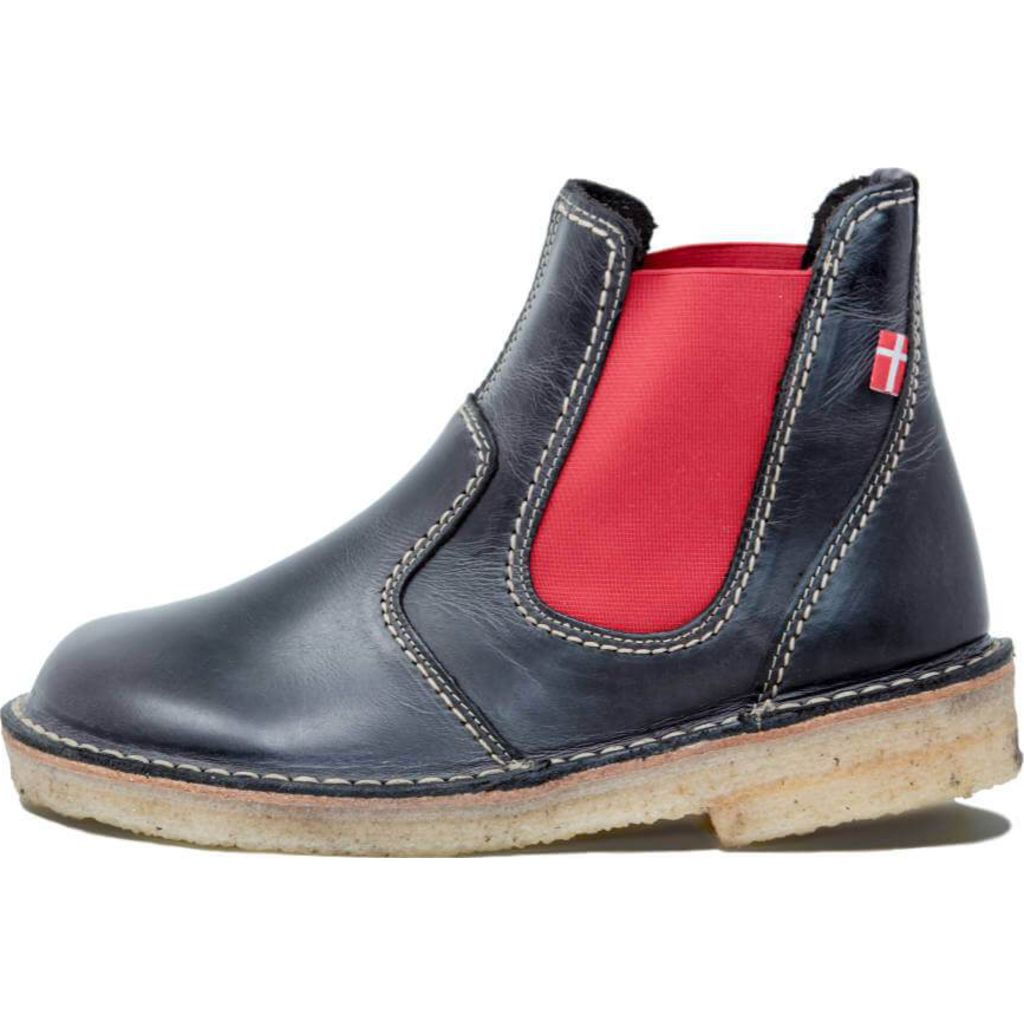 Duckfeet Roskilde Leather Boots in Slate
