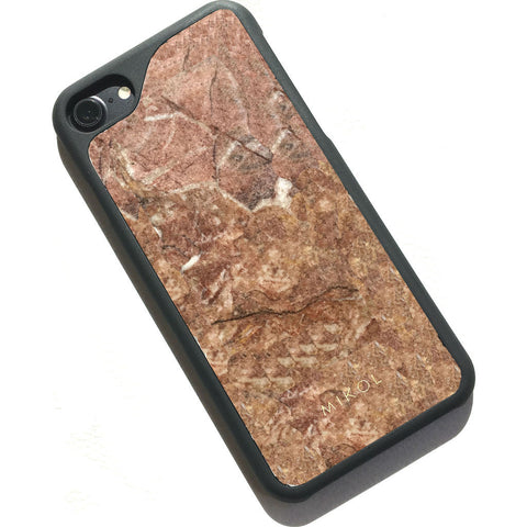MIKOL Rosso Verona Marble iPhone Case | Red/Black