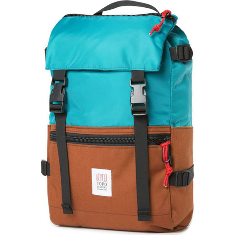 Topo Designs Rover Pack Backpack | Clay/Turquoise