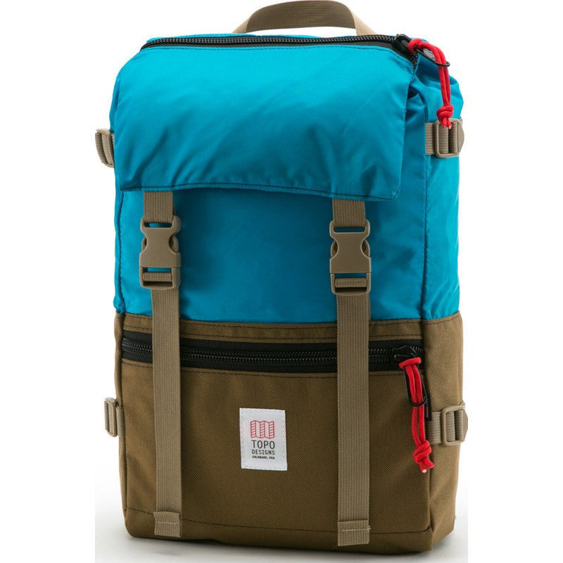 Topo Designs Rover Pack Backpack | Coyote/Aqua