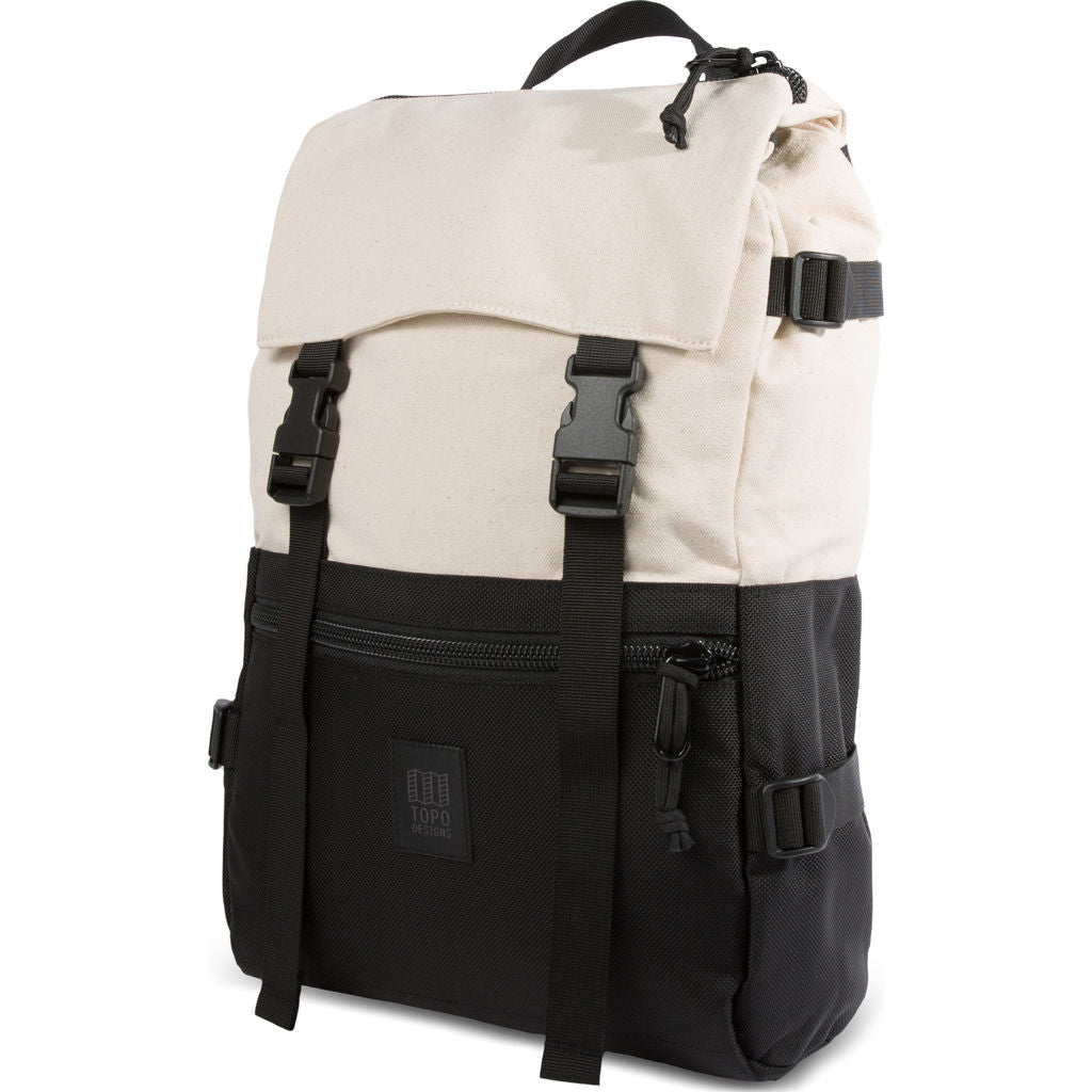 Topo Designs Rover Pack Backpack | Natural/Black