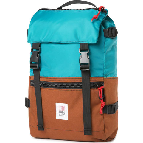 Topo Designs Rover Pack Backpack | Turquoise/Clay
