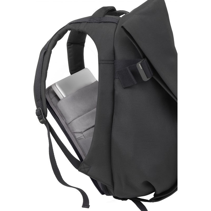 Cote et Ciel Isar Large Eco Yarn Laptop Backpack | Black 27700