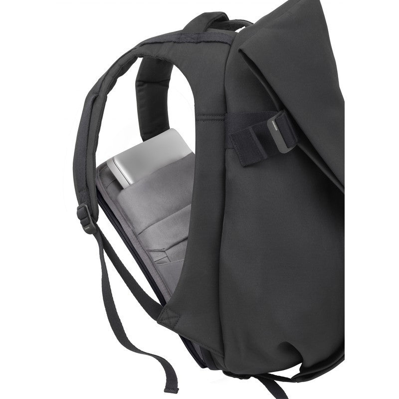 Cote et Ciel Isar Medium Eco Yarn Backpack | Black