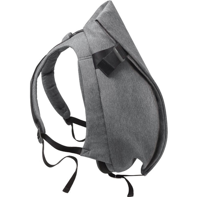 Cote et Ciel Isar Medium Eco Yarn Backpack | Black Melange