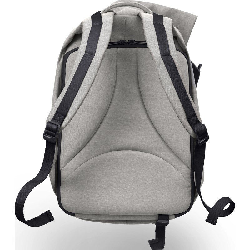 Cote et Ciel Isar Medium Eco Yarn Laptop Backpack | Grey Melange 27712