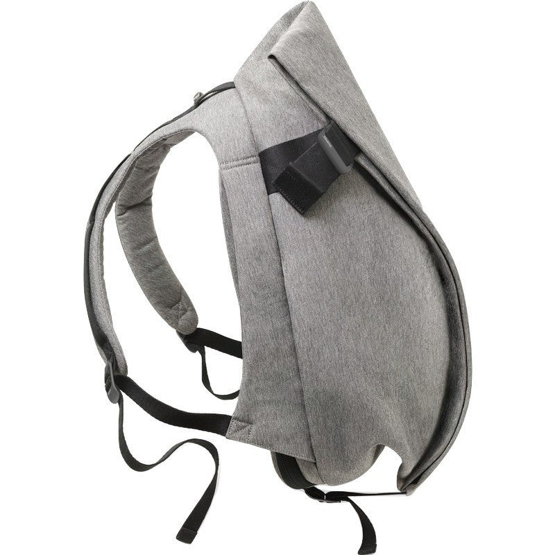 Cote et Ciel Isar Medium Eco Yarn Backpack | Grey Melange