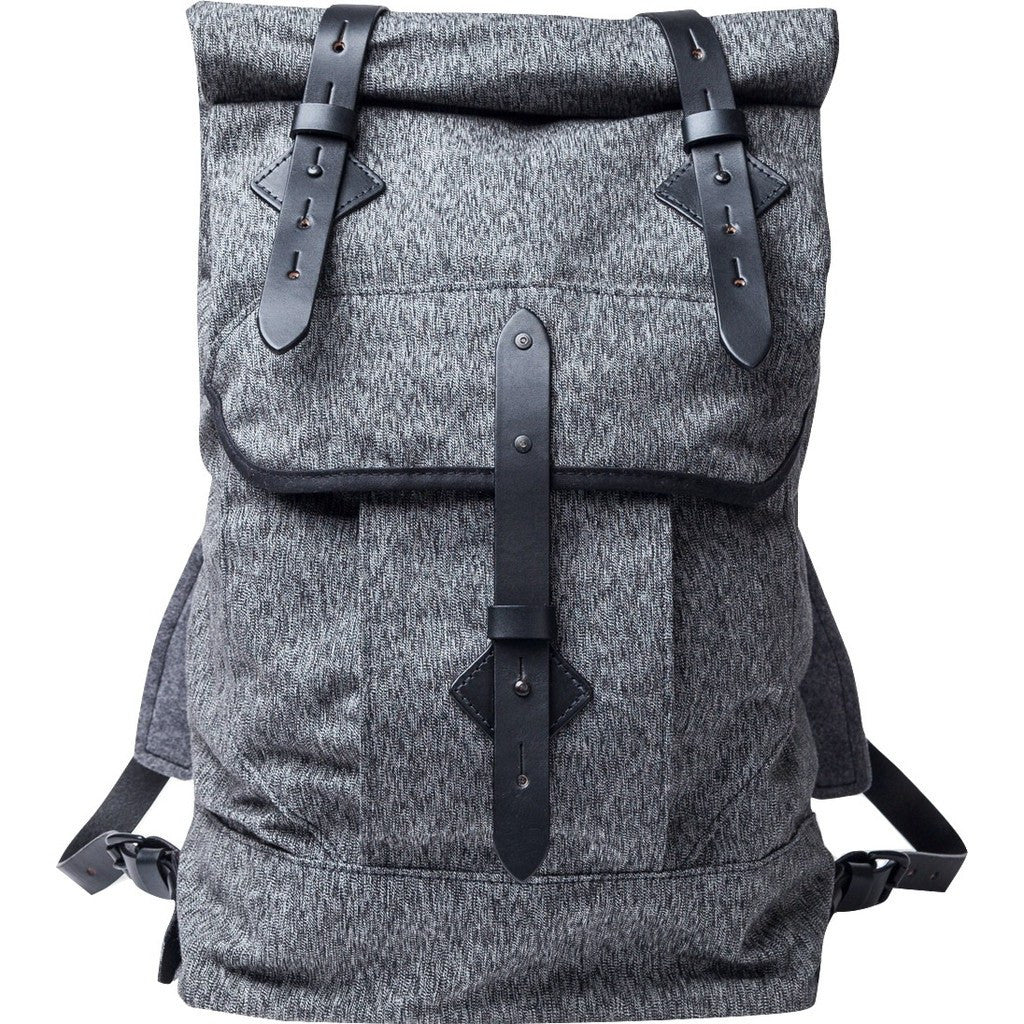 Tanner Goods Wilderness Rucksack Backpack | Black Salt & Pepper 3102 73235