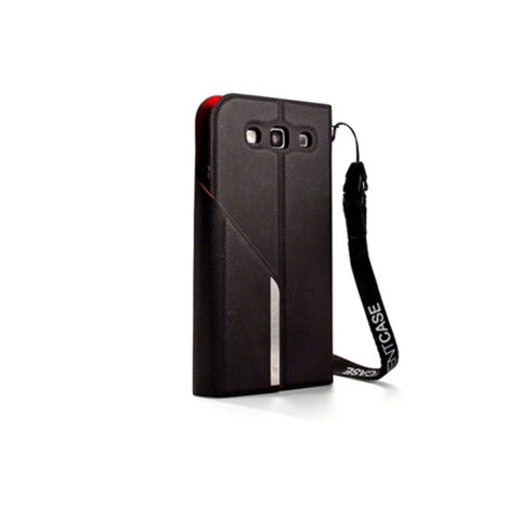 ElementCase Soft-Tec Wallet Samsung Galaxy S3 Case Black/Red