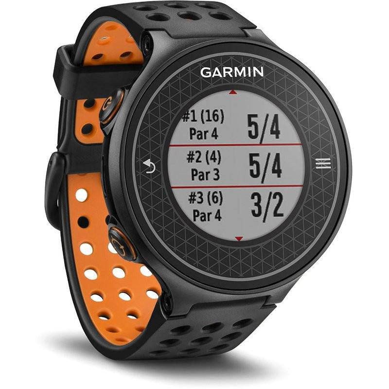 Garmin Approach S6 GPS Golf Watch | Orange/Black