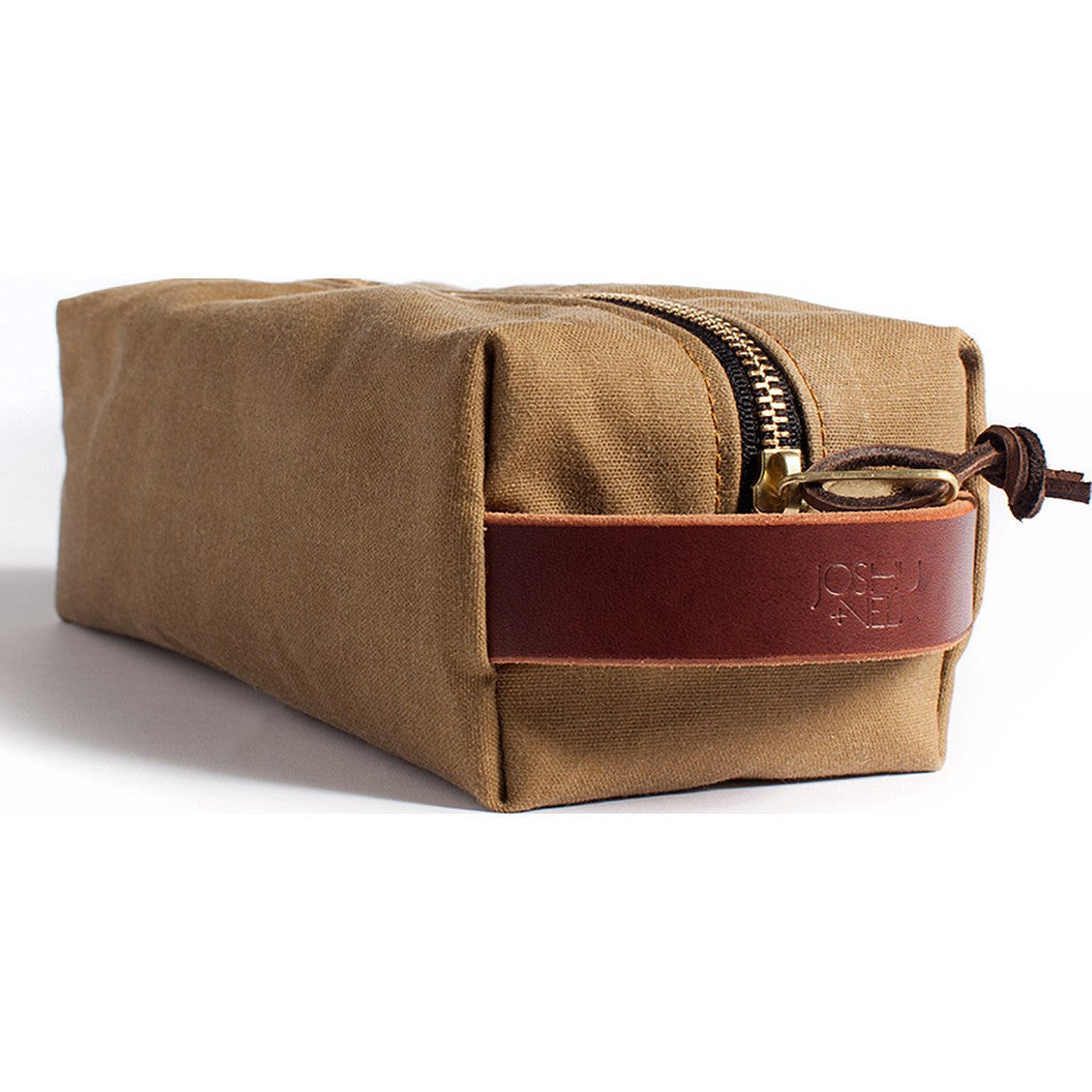 Joshu + Vela Dopp Kit | Safari Tan Wax