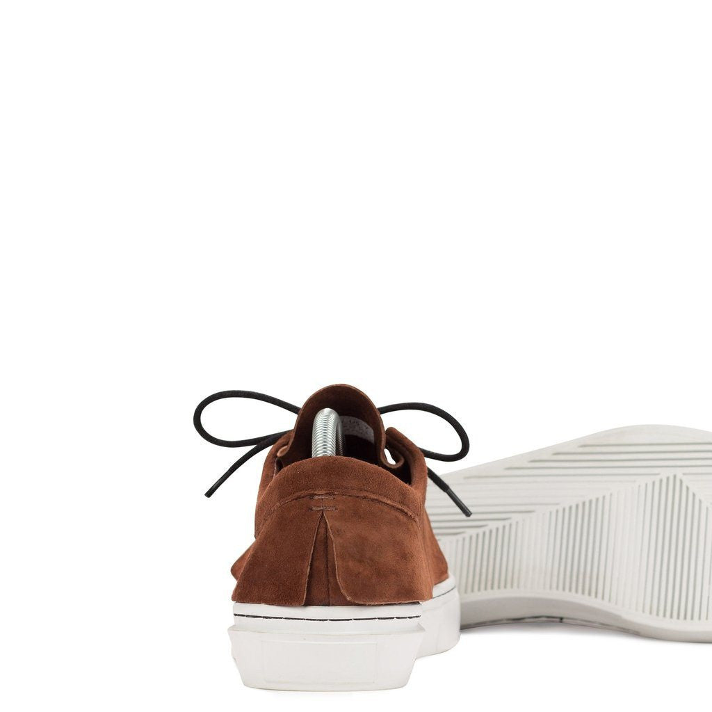 Clear Weather Santora Laced Moccasins | Henna Suede CRW-003-HEN