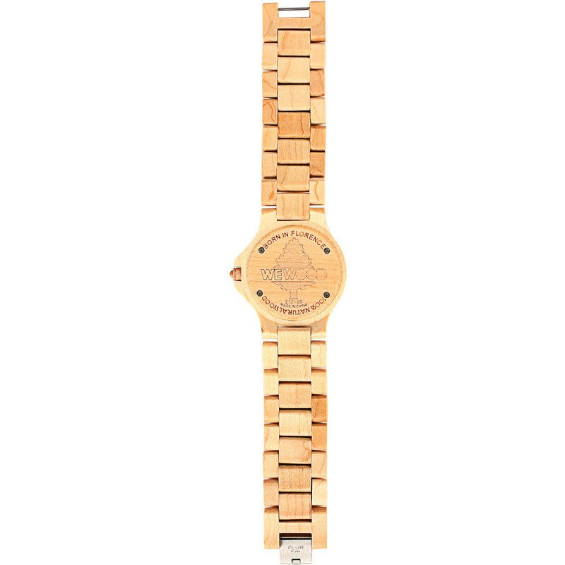 WeWood Sargas Maple Wood Watch | Beige