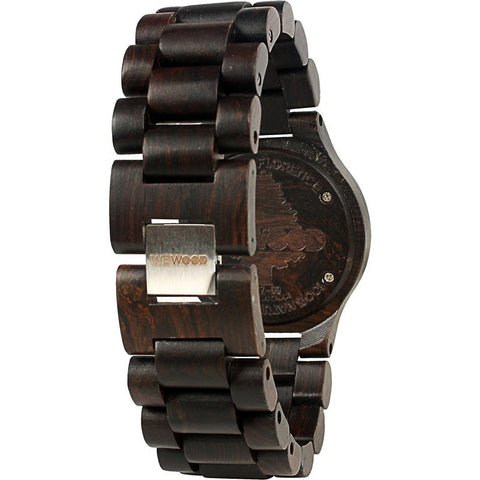 WeWood Sargas Blackwood Wood Watch | Black