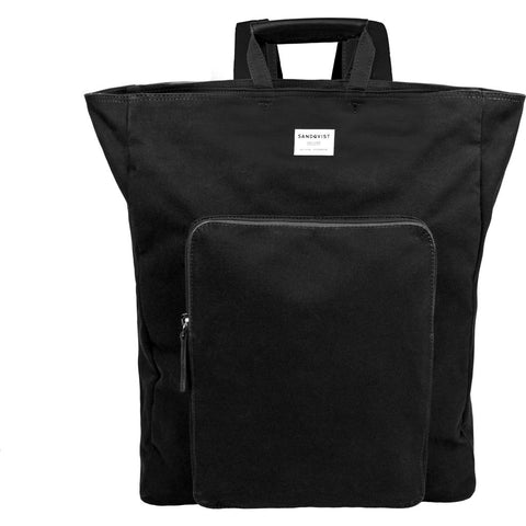 Sandqvist Sasha Backpack | Black SQA730