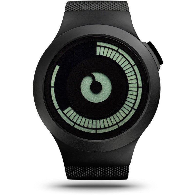 ZIIIRO Saturn Black Watch | Z0008WB