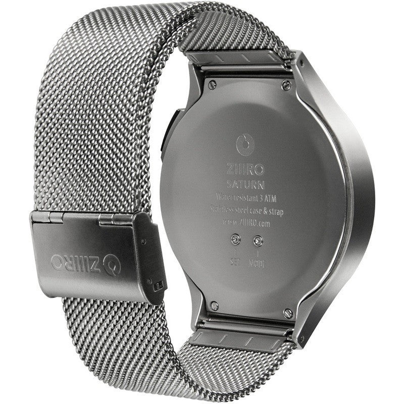 ZIIIRO Saturn Chrome Watch | Z0008WS