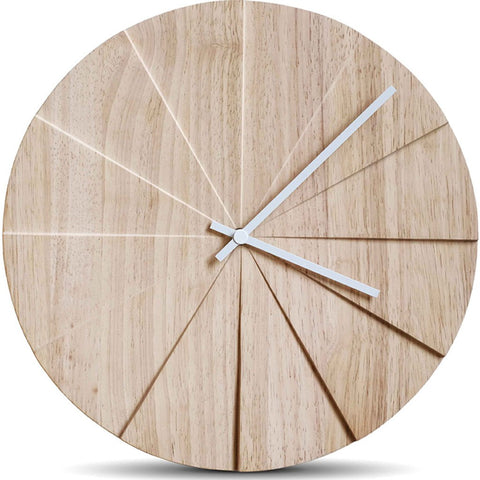 LEFF Scope40 Wall Clock Natural LT30005