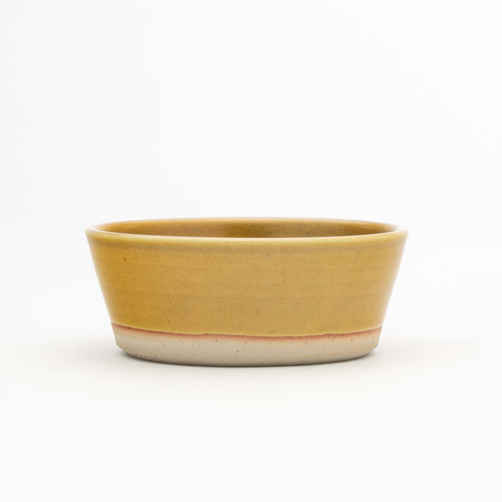 WRF Lab Stone Small Serving Bowl / Mustard