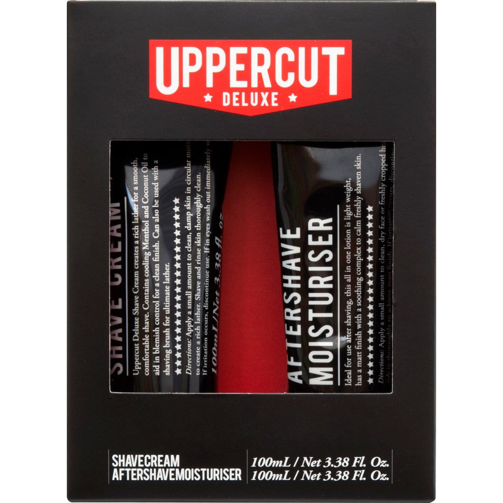 Uppercut Deluxe Duo Kit | Shave Cream & Aftershave UPDCPK0037