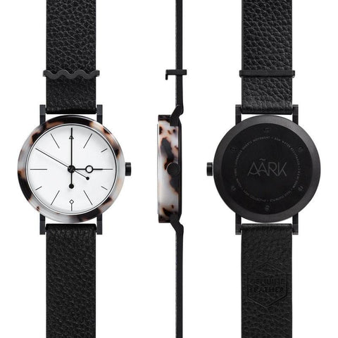 AARK Collective Shell Watch | White