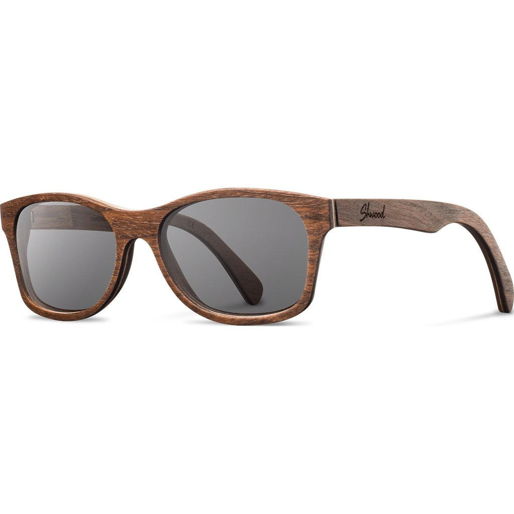 Shwood Cannon Original Sunglasses | Walnut / Grey Polarized WOC2WGP