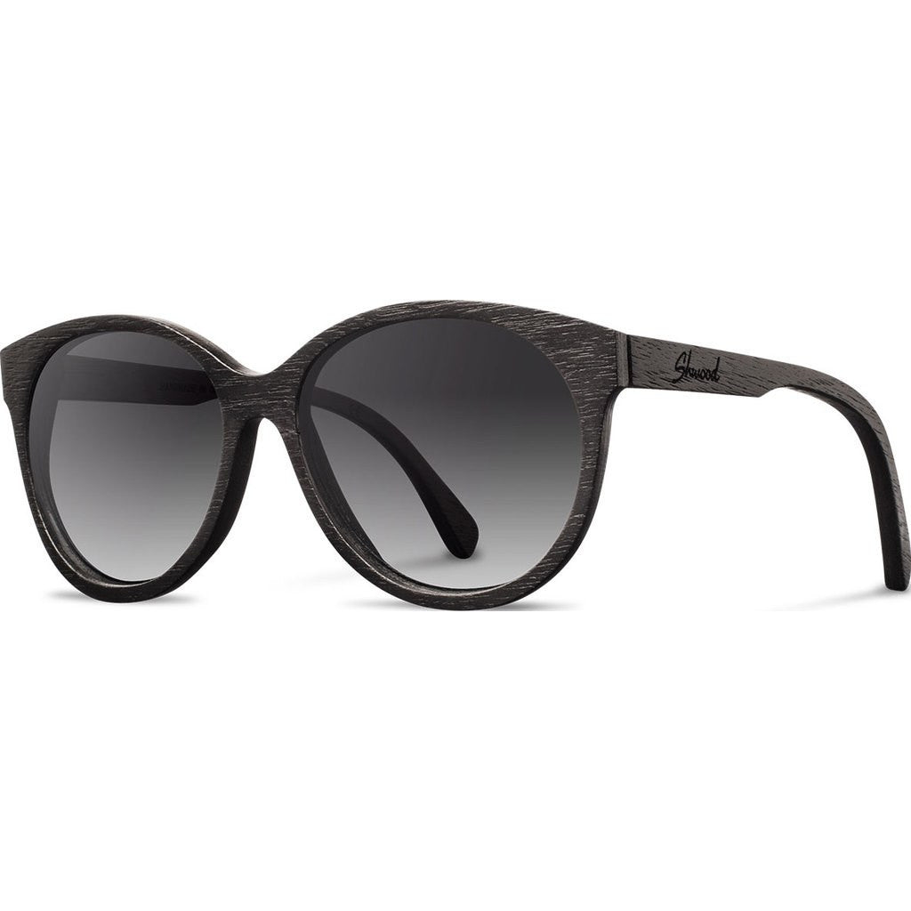 Shwood Madison Original Sunglasses | Dark Walnut / Grey Fade WWOM2DWG2