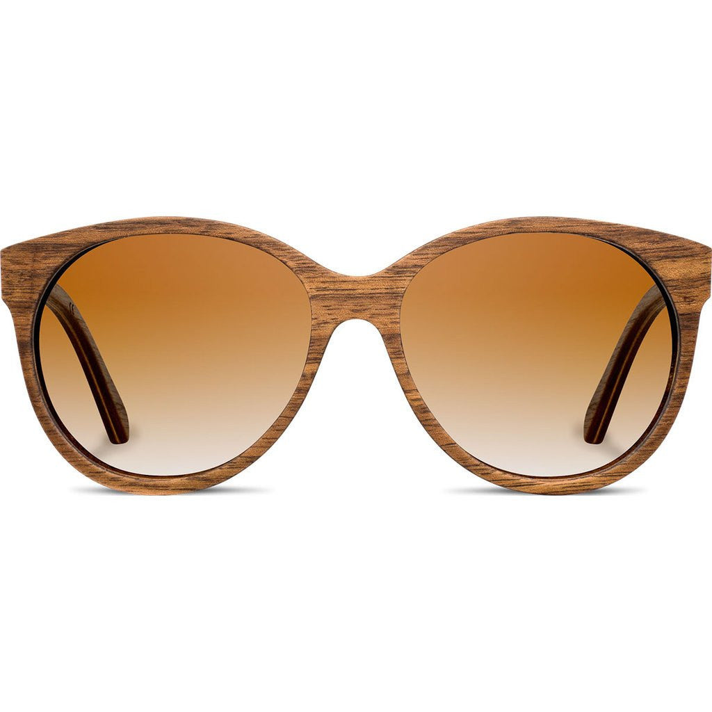 Shwood Madison Original Sunglasses | Walnut / Brown Fade Polarized WWOM2WB2P
