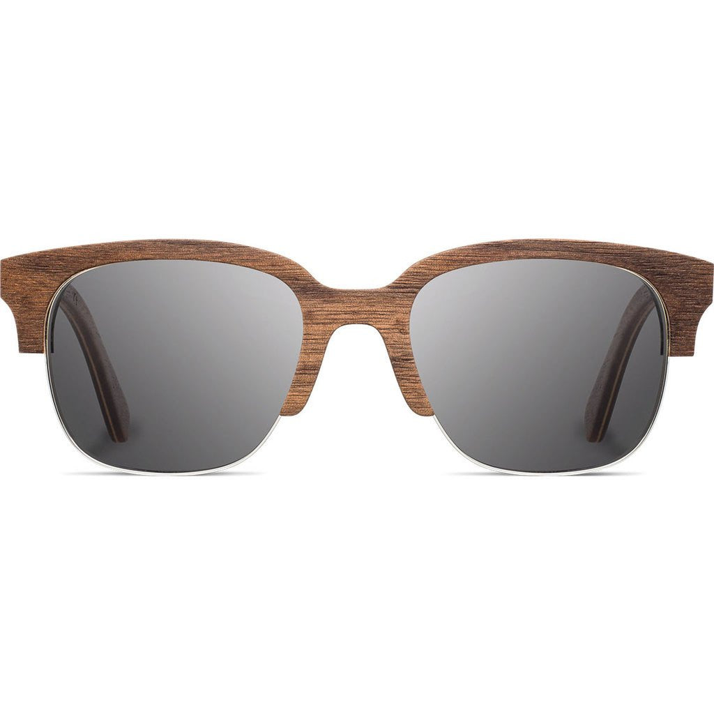 Shwood Newport Original 52mm Sunglasses | Walnut / Grey Polarized WONWGP