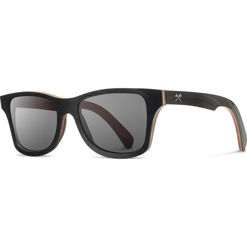 Shwood x Atlantic Record Canby Select Sunglasses | Grey Polarized