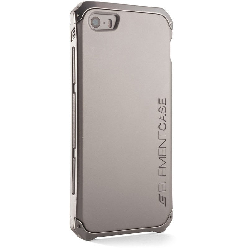 ElementCase Solace iPhone 5/5s Case Silver