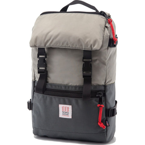 Topo Designs Rover Pack Backpack | Silver/Charcoal
