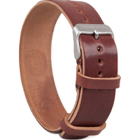 Tanner Goods Cordovan Single Watch Strap | Burgundy OS