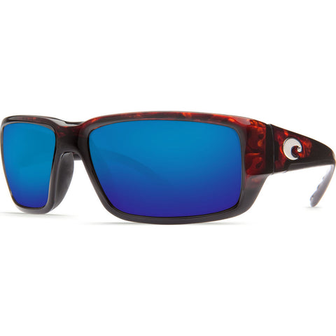 Costa Fantail Tortoise Sunglasses | Blue Mirror Glass W580