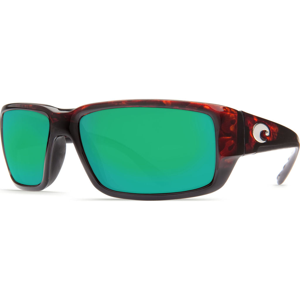 Costa Fantail Tortoise Sunglasses | Green Mirror Glass W580