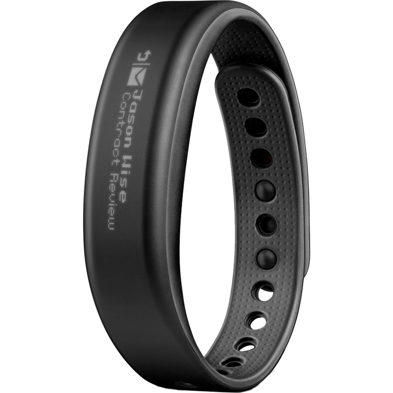 Garmin Vivosmart Bluetooth Activity Tracker | Slate