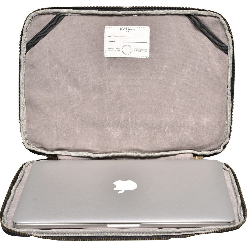 "Souve Bag Co Canvas 13"" Macbook Sleeve 