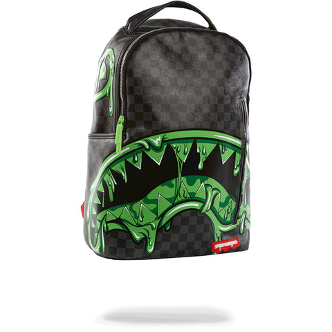 Sprayground Slime Shark Backpack | Grey/Black