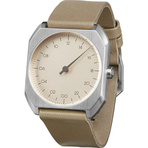 slow Mo 09 Cr?me Watch | Beige Leather