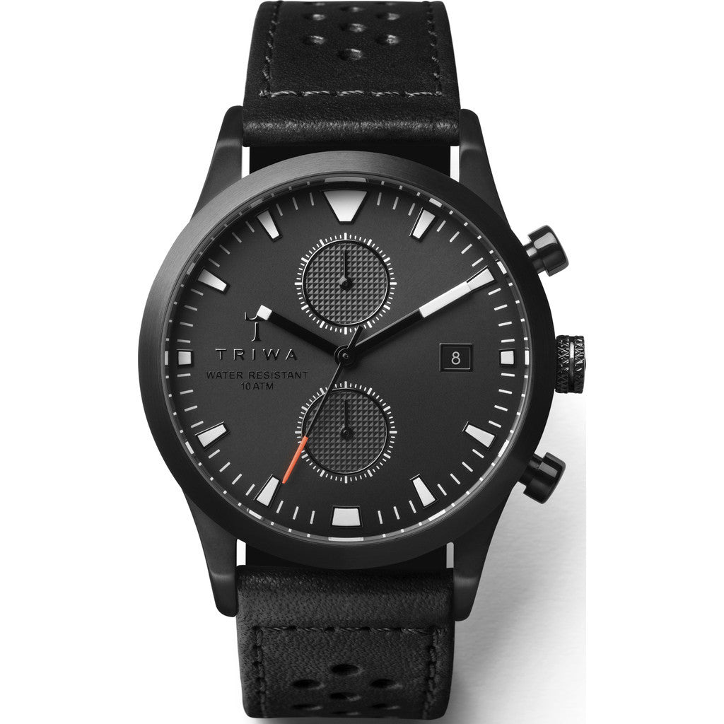Triwa Sort of Black Glow Chrono Watch | Black Racing Classic LCST112-CR010113