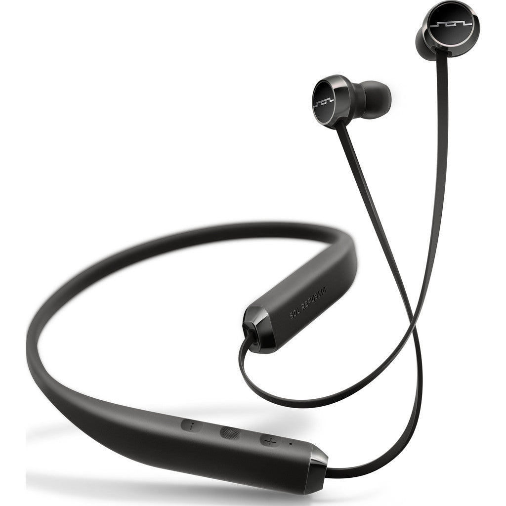 Sol Republic Shadow Wireless Earphones | Black/Grey SHDW BLK 1140-01 1N9863