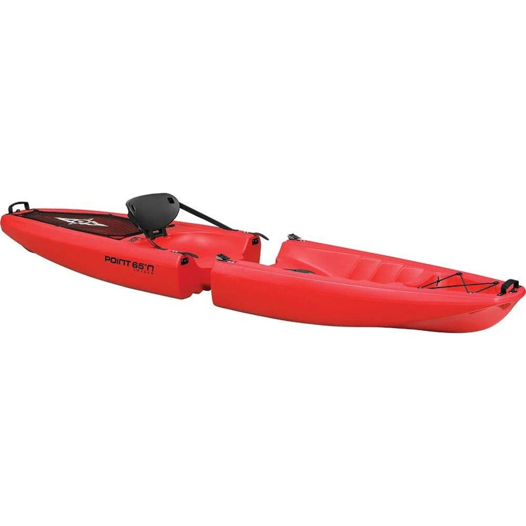 Point 65 Falcon Sit-on-Top Modular Kayak, Solo