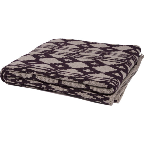 Stacy Garcia Southwest Eco Throw | Hemp/Merlot- SG-SW04