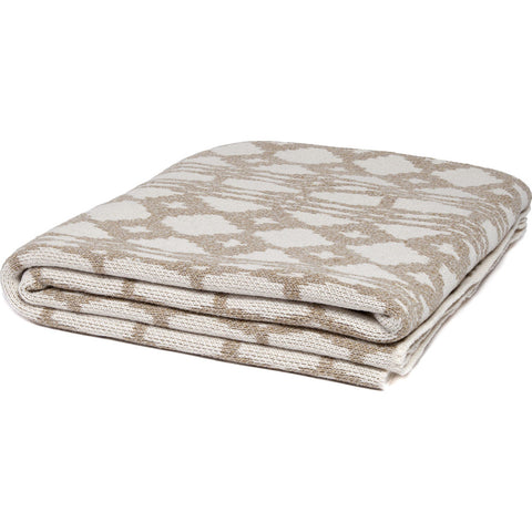 Stacy Garcia Southwest Eco Throw | Marled Oatmeal/Milk- SG-SW02