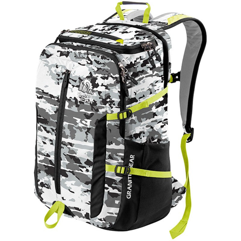 Granite Gear Splitrock Backpack | New World/Black/Neolime