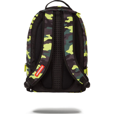 Sprayground Neon Camo Pockets Backpack | Green 9100B923Nsz
