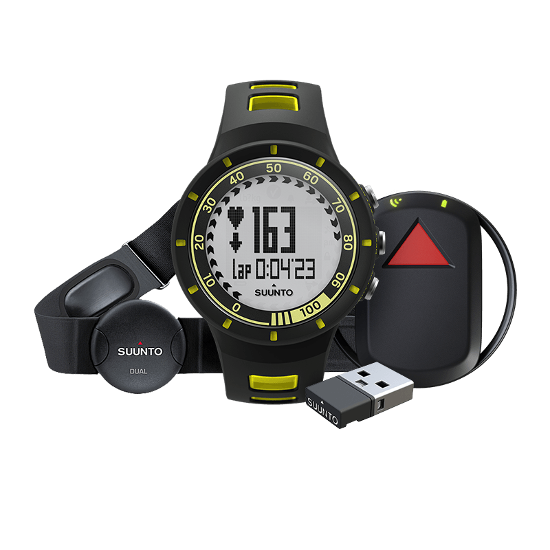 Suunto Quest GPS Pack (HR) Watch | Yellow