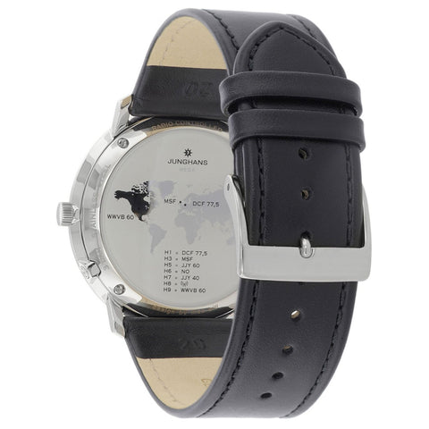 Junghans Max Bill Mega Radio Controlled Watch | Black 058/4820.00